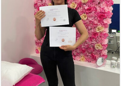 Microneedling course with LED certification