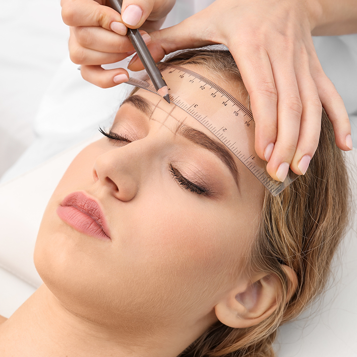 Eyebrow threading for beginners